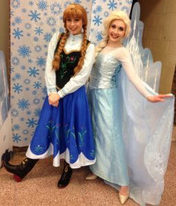 Promoting Reading with our Annual Book Breakfast — with Anna and Elsa